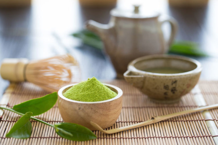 Traditional Japanese Matcha Green Tea Ceremony