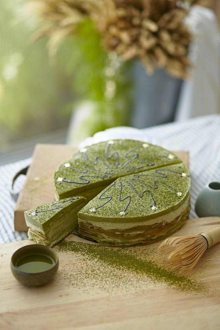 culinary matcha green tea cake